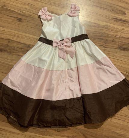 Elegancka sukienka rozm. 110-116