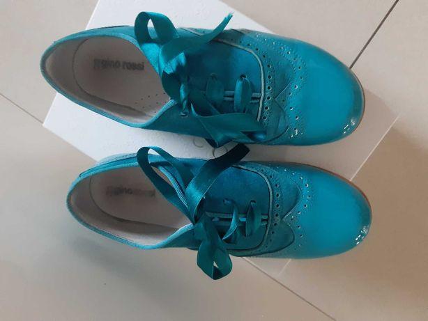 Buty wloskie skóra  100% j nowe r 32 model Gucci