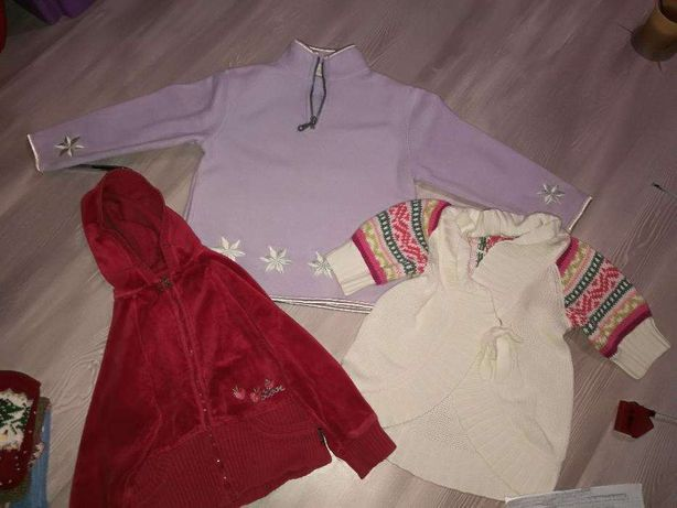 Dziewczęce bluzy na 3-4lata!!!