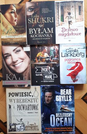Książki różne: powieści, przygodowe, romanse, kryminały sprzedaż/wym.