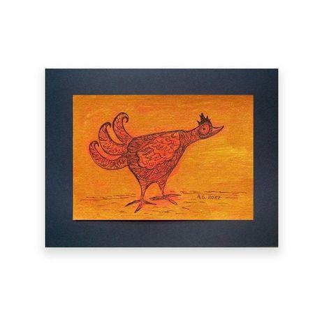 ptaszek rysunek do pokoju,obrazek z ptaszkiem,ładna grafika do pokoju