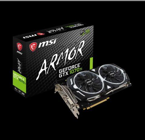 Відеокарта MSI  NVIDIA® GeForce® GTX 1070 Ti ARMOR 1070 ti 8 Gb