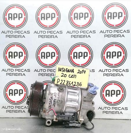 Compressor ar condicionado Opel Insignia 2014 2.0 CDTI referência P22861236