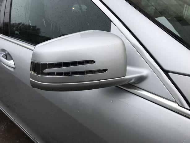 Дзеркала на Mercedes S-Class W221 рестайлінг Бу оригінал мерседес