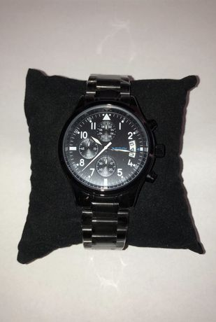 Czarny zegarek Alphacool