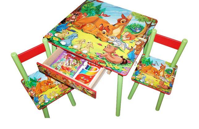 Детский стол и стульчик Бемби ( варианты) От производителя