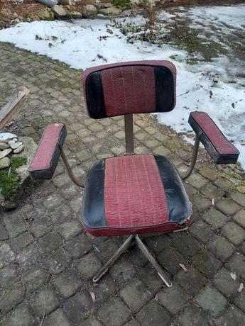 Fotel,krzesło, stare,prl do renowacji