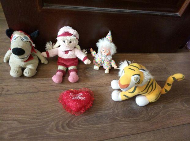 Продам мягенькие игрушки в отличном состоянии по хорошей цене!