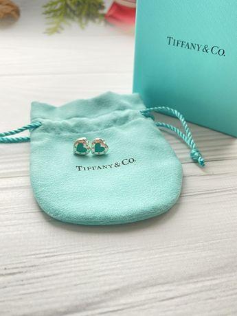 Серьги Tiffany & Co оригинал. Шикарный подарок для любимой
