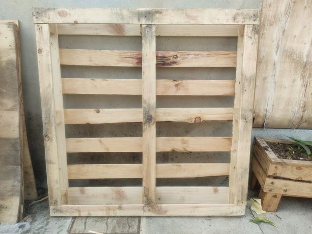 Paletes de madeira usadas 1150 x 1150 mm para Armazem Transporte etc