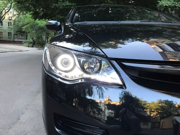 Honda Civic (2006), Передние фары (линза, черные)