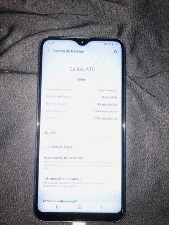 Samsung A10 Azul