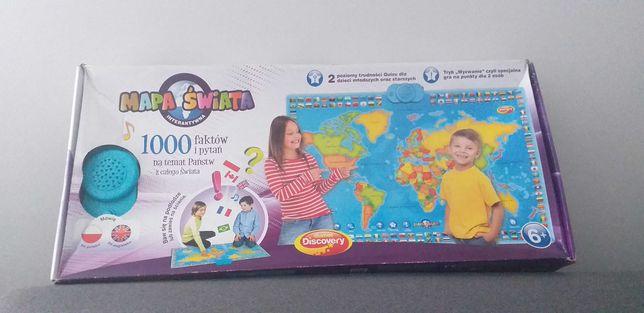 Gra Mapa Świata Interaktywna