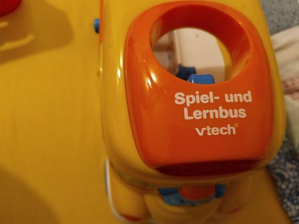 Zabawka interaktywna niemiecki autobus