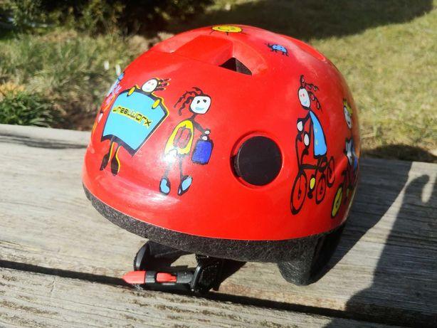 Kask rowerowy dziecięcy Seguro roz XS 44-48 cm