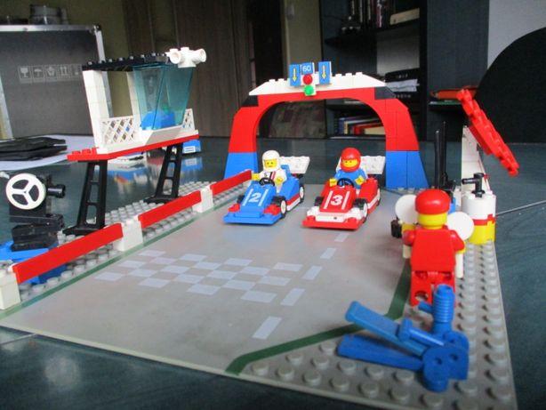 Lego Tor wyścigowy 6301 z okresu PRL