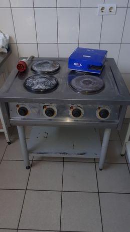 Професійна електрична плита 380v