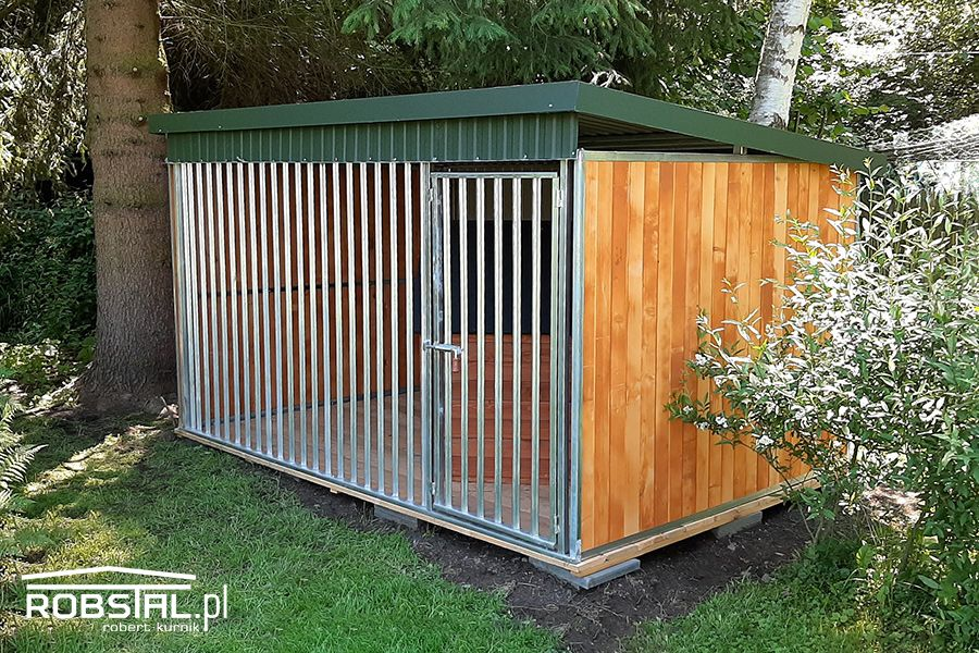 Kojec dla psa ocynkowany MAJA box klatka | GRATIS transport i montaż Chojnice - image 1