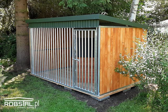 Kojec dla psa ocynkowany MAJA box klatka | GRATIS transport i montaż