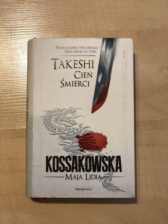 książka Takeshi cień śmierci Maja Lidia Kossakowska