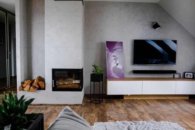 Apartament (loft) z kominkiem 98 m2 (+garderoba) - Zielona Dolina