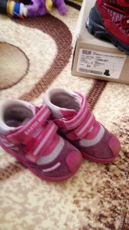 Демисезонные ботинки бартек 22 размер