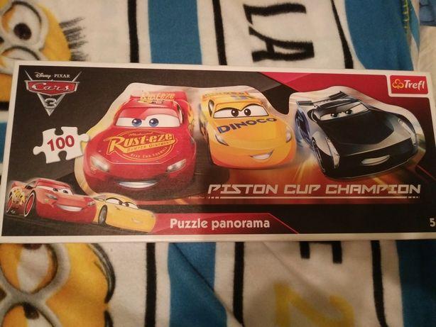 Puzzle Auta Cars 100 el