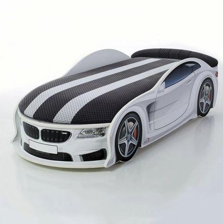 Удобная Детская Кровать Машинка Audi/Ауди A6 - Бесплатная доставка
