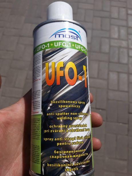 Безсиликоновая сварочная жидкость спрэй для сварки UFO-1 антиокалина