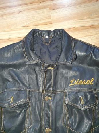 Diesel kurtka skórzana skóra męskie roz.L