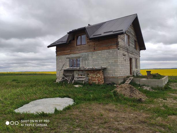 Новозбудований будинок та 12 сот землі.  С. Чижиків. 15 хв від Личаків