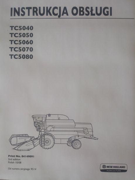 Instrukcja obsługi New Holland TC5040 TC5050 TC5060 TC5070 TC5080 [PL]