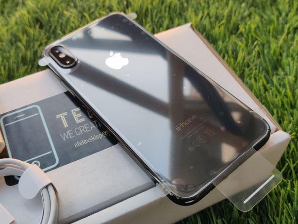 IPhone X 64GB SILVER Srebrny Biały Szary Jak Nowy Gwarancja Bat 91%