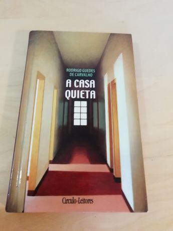 A Casa Quieta deRodrigo Guedes de Carvalho COMO NOVO!!