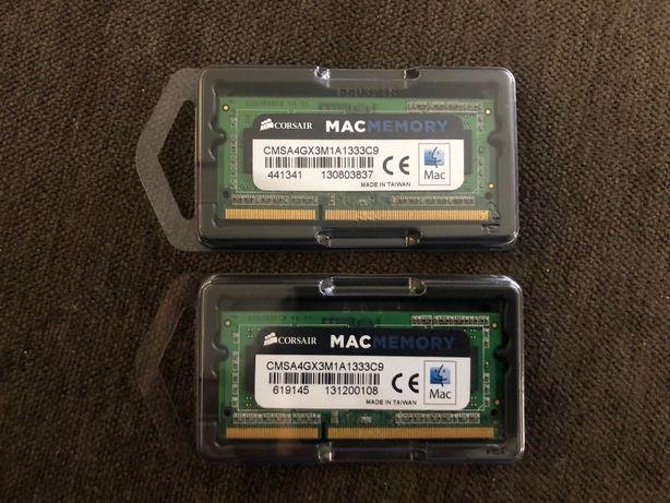 Memória RAM Corsair 4GB DDR3
