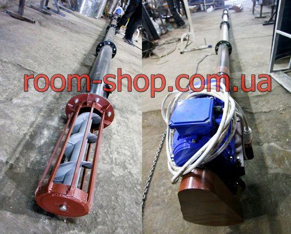 Шнековый транспортер, погрузчик, конвейер, диаметр 159 мм., шнек