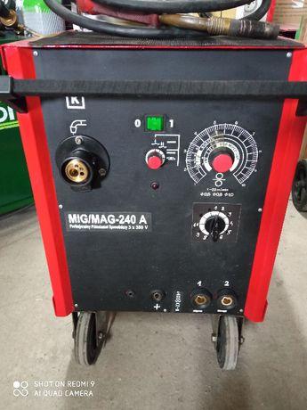 Półautomat Spawalniczy Migomat Spawarka MIG-MAG 240A butla
