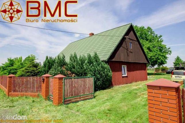 Drewniany dom Dąbrowa, gm Przystajń
