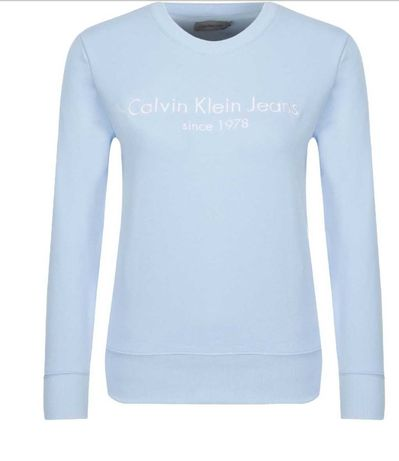 Bluza damska Calvin Klein błękitna rozmiar xs