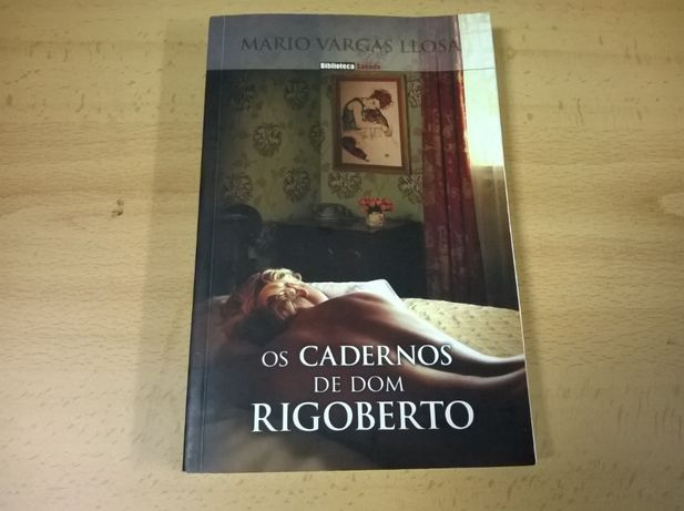 Os Cadernos de Dom Rigoberto - Mario Vargas Llosa (portes grátis)