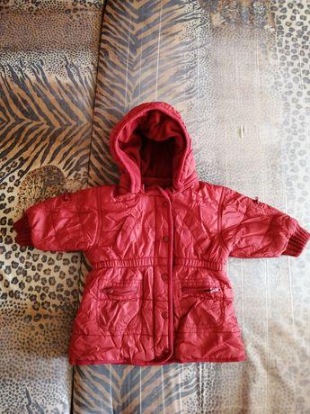 Осенняя куртка для девочки, 4-6 месяцев, 68 см