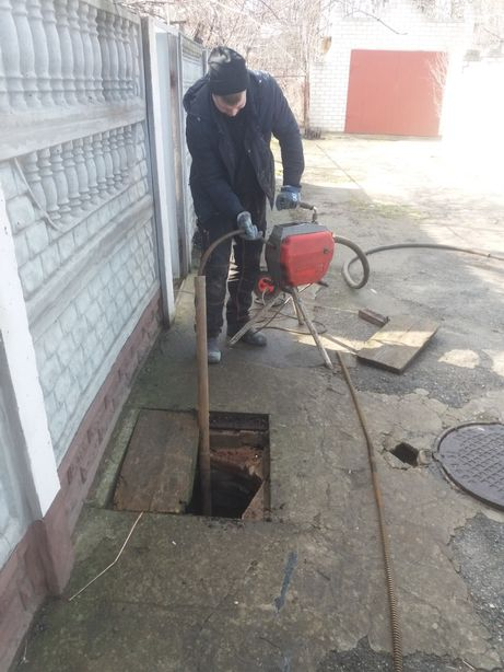Сантехник.Чистка канализации Херсон.