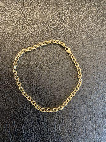 Złota bransoleta bransoletka próba 585 Ankier