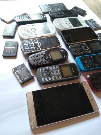 Мобільні телефони, Nokia, Apple, Fly, Samsung, на запчастини