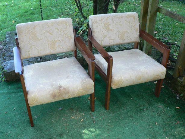 Fotel PRL jak Chierowski lata 60 70 80 + kanapa