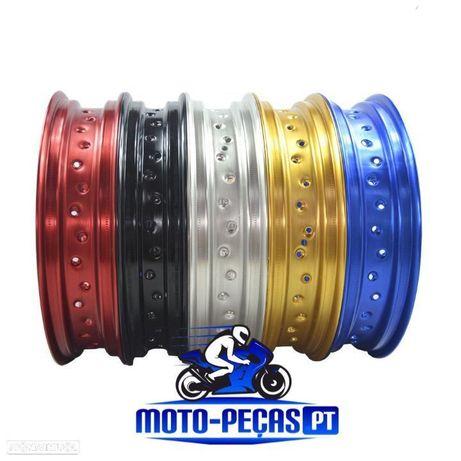 AROS 17 , RODAS SUPERMOTO , SUPERMOTARD , SUPER MOTARD , SUPER MOTO JANTES aluminio 36 furos