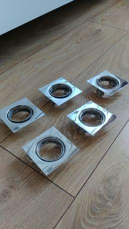 Halogeny sufitowe kwadratowe 5szt. /okrągłe 2szt.