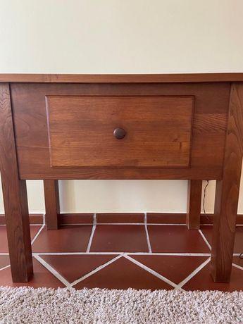 Mesa de apoio madeira