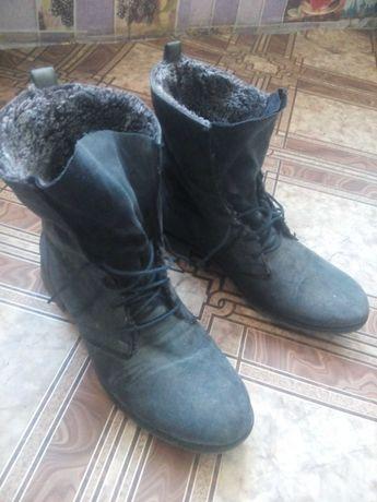 Ботинки очень теплые