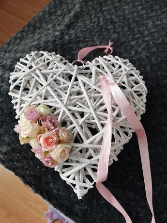 Dekoracja weselna, serce, wesele